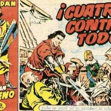 Tebeos: 'EL CAPITÁN TRUENO', Nº 9. EDITORIAL BRUGUERA. COLECCIÓN DAN. 1,25 PTAS. . Lote 16736515