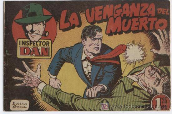 INSPECTOR DAN Nº 5 BUENO (Tebeos y Comics - Bruguera - Inspector Dan)