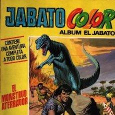 Tebeos: JABATO COLOR ÁLBUM... EL MONSTRUO ATERRADOR 1ª ÉPOCA Nº 10 . Lote 22294713