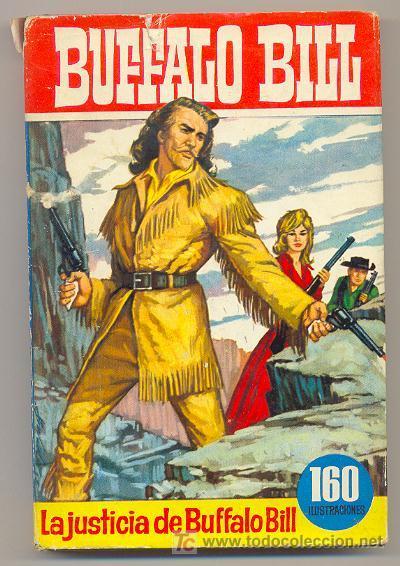 COLECCIÓN HEROES - Nº 46 - BUFFALO BILL - LA JUSTICIA DE BUFFALO BILL (Tebeos y Comics - Bruguera - Otros)