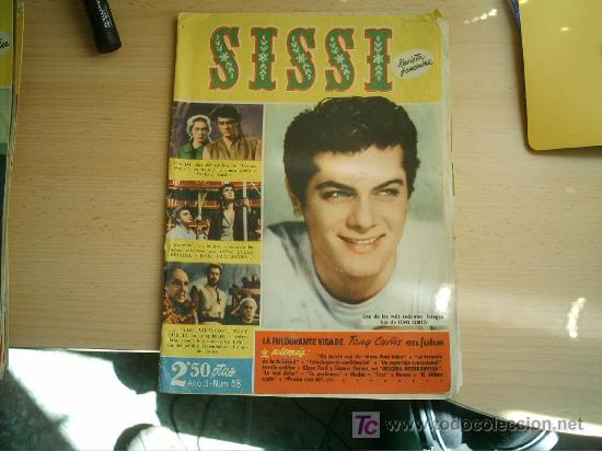 Tebeos: SISSI Nº 58.TONY CURTIS - Foto 1 - 4827108