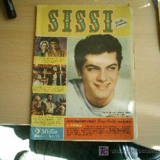 Tebeos: SISSI Nº 58.TONY CURTIS. Lote 4827108