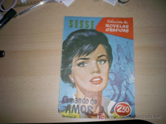SISSI SELECCION DE NOVELAS GRAFICAS. Nº 52 (Tebeos y Comics - Bruguera - Sissi)