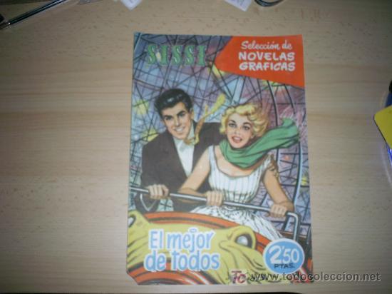 SISSI SELECCION DE NOVELAS GRAFICAS. Nº 86 (Tebeos y Comics - Bruguera - Sissi)