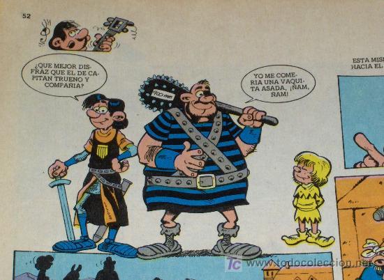 ZIPI Y ZAPE ESPECIAL Nº 160 MASCARADA CON ORNELO DISFRAZADO DE CAPITÁN TRUENO. BRUGUERA 1986. 155 PT (Tebeos y Comics - Bruguera - Capitán Trueno)