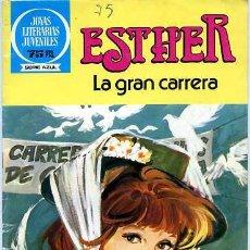 Tebeos: ESTHER, LA GRAN CARRERA Nº45, BRUGUERA. Lote 4966688