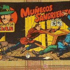 Tebeos: INSPECTOR DAN Nº 1. MUÑECOS SANGRIENTOS. 1,25 PTS. .. Lote 18696341