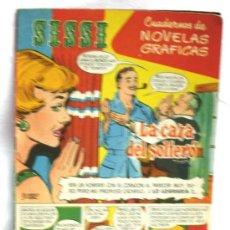 BDs: SISSI NOVELAS GRÁFICAS Nº 13 LA CAZA DEL SOLTERON EDITORIAL BRUGUERA AÑOS 50. Lote 5098389
