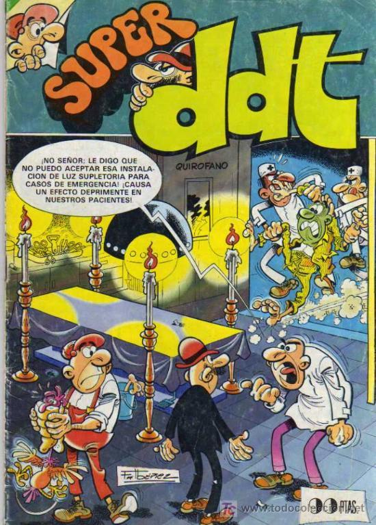 SUPER DDT - AGOSTO 1983 (Tebeos y Comics - Bruguera - DDT)