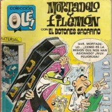 Tebeos: MORTADELO Y FILEMÓN + EL BOTONES SACARINO. COLECCIÓN OLÉ, Nº 257. FRANCISCO IBAÑEZ. . Lote 5395185