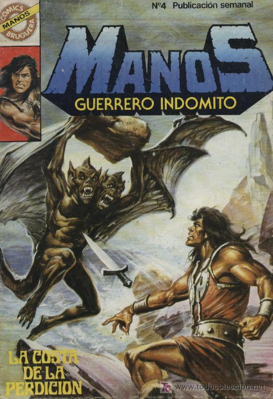 MANOS: GUERRERO INDÓMITO - Nº 4 - ED. BRUGUERA 1984 (Tebeos y Comics - Bruguera - Otros)