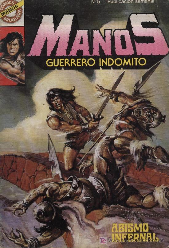 MANOS: GUERRERO INDÓMITO - Nº 5 - ED. BRUGUERA 1984 (Tebeos y Comics - Bruguera - Otros)