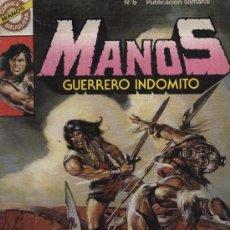 Tebeos: MANOS: GUERRERO INDÓMITO - Nº 5 - ED. BRUGUERA 1984. Lote 5404379
