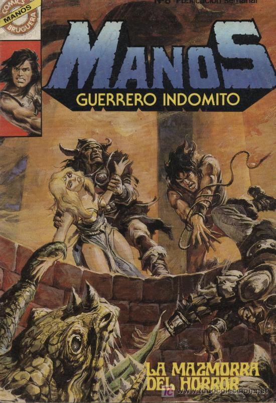 MANOS: GUERRERO INDÓMITO - Nº 8 - ED. BRUGUERA 1984 (Tebeos y Comics - Bruguera - Otros)