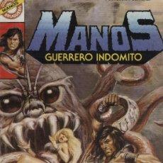 Tebeos: MANOS: GUERRERO INDÓMITO - Nº 15 - ED. BRUGUERA 1984. Lote 5404391