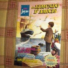 Tebeos: SUPER JOYAS LITERARIAS Nº 1. EDMUNDO D'AMICIS. BRUGUERA 1º EDICIÓN 1977.. Lote 12358006