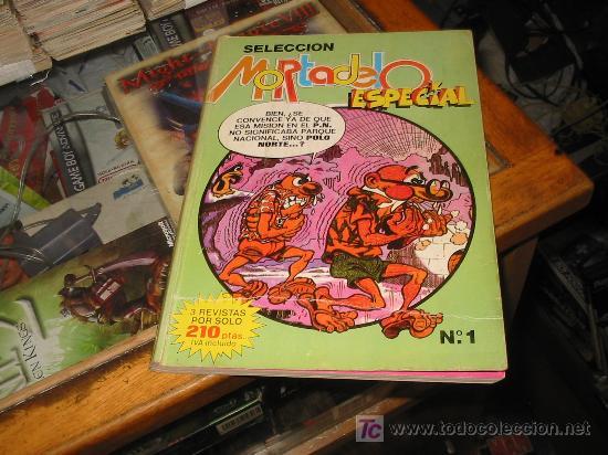 MORTADELO ESPECIAL,TOMO N-1 CON 3 NUMEROS. (Tebeos y Comics - Bruguera - Mortadelo)