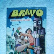 Tebeos: BRAVO Nº 7 EL CACHORRO Nº 4/ LA MALDICION DE KALA / BRUGUERA 1976. Lote 5846144