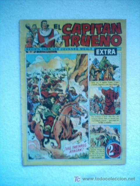CAPITAN TRUENO EXTRA Nº 16 BRUGUERA 1960 PORTADA DE AMBROS (Tebeos y Comics - Bruguera - Capitán Trueno)