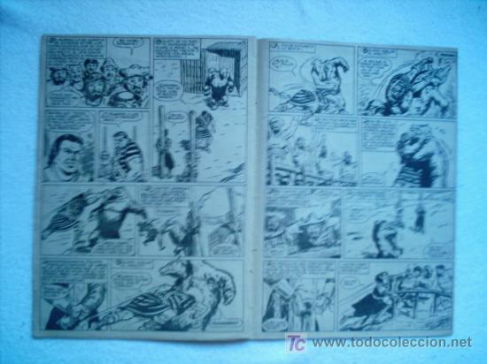 Tebeos: CAPITAN TRUENO EXTRA Nº 16 BRUGUERA 1960 PORTADA DE AMBROS - Foto 2 - 26315357