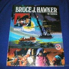 Tebeos: RUMBO A GIBRALTAR - BRUCE J. HAWKER - BRUGUERA 1ª EDICION 1983.. Lote 6100605