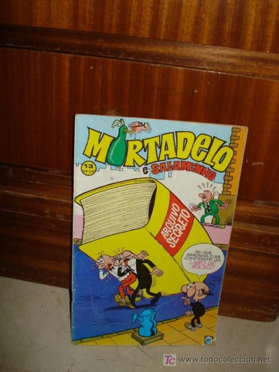 MORTADELO E SALAMINHO - EDITADO EN BRASIL (Tebeos y Comics - Bruguera - Mortadelo)