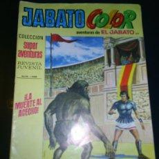 Tebeos: M69 JABATO COLOR LA MUERTE AL ACECHO NUM 1498 (159). Lote 6381645