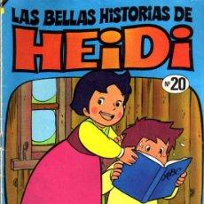 Tebeos: LAS BELLAS HISTORIAS DE HEIDI Nº 20. Lote 6536122