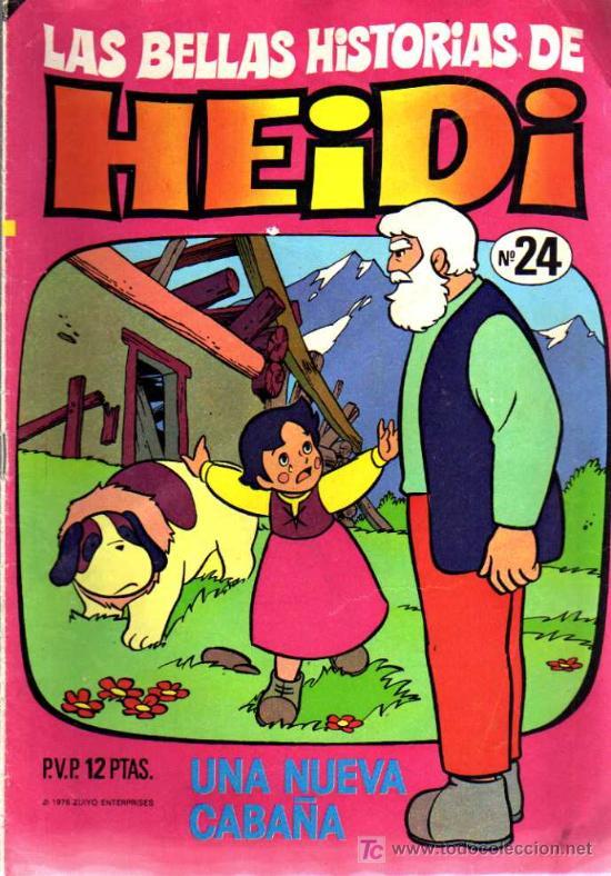 LAS BELLAS HISTORIAS DE HEIDI Nº 24 (Tebeos y Comics - Bruguera - Otros)