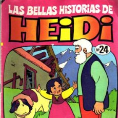 Tebeos: LAS BELLAS HISTORIAS DE HEIDI Nº 24. Lote 6536129