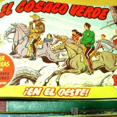 Tebeos: EL COSACO VERDE (BRUGUERA) 144 EJ (COMPLETA) (ENCUADERNADA EN 3 TOMOS). Lote 6603825