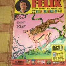 Tebeos: GRAN PULGARCITO Nº 75. FÉLIX EL AMIGO DE LOS ANIMALES. 10 PTS. BRUGUERA 1970. CON ASTERIX, TENIENTE.. Lote 22409288