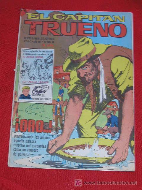 EL CAPITAN TRUENO EXTRA Nº 340 AÑO 1966 EDITORIAL BRUGUERA (Tebeos y Comics - Bruguera - Capitán Trueno)