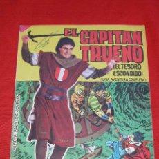 Tebeos: EL CAPITAN TRUENO ALBUM GIGANTE Nº 17 - EL TESORO ESCONDIDO - ED. BRUGUERA. Lote 26673931