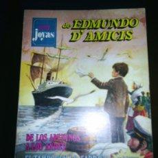 Tebeos: M69 SUPER JOYAS LITERARIAS DE EDMUNDO DAMICIS PRIMERA EDICION NUMERO 1 ¡¡¡¡¡DIFICILISIMO!!!!!. Lote 20545368