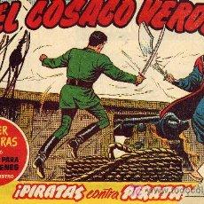 Tebeos: EL COSACO VERDE Nº9 (CUADERNILLO ORIGINAL) FERNANDO COSTA Y VÍCTOR MORA. EDITORIAL BRUGUERA. Lote 6816187