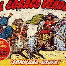 Tebeos: EL COSACO VERDE Nº18 (CUADERNILLO ORIGINAL) FERNANDO COSTA Y VÍCTOR MORA. EDITORIAL BRUGUERA. Lote 6816443