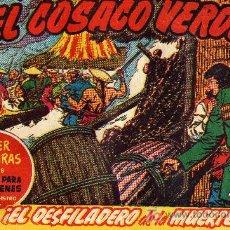 Tebeos: EL COSACO VERDE Nº33 (CUADERNILLO ORIGINAL) FERNANDO COSTA Y VÍCTOR MORA. EDITORIAL BRUGUERA. Lote 6831024