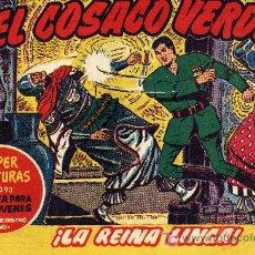Tebeos: EL COSACO VERDE Nº38 (CUADERNILLO ORIGINAL) FERNANDO COSTA Y VÍCTOR MORA. EDITORIAL BRUGUERA. Lote 6831062