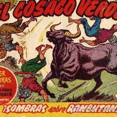 Tebeos: EL COSACO VERDE Nº47 (CUADERNILLO ORIGINAL) FERNANDO COSTA Y VÍCTOR MORA. EDITORIAL BRUGUERA. Lote 6831110
