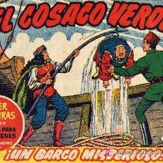 Tebeos: EL COSACO VERDE Nº40 (CUADERNILLO ORIGINAL) FERNANDO COSTA Y VÍCTOR MORA. EDITORIAL BRUGUERA. Lote 6831133