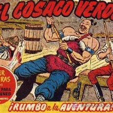 Tebeos: EL COSACO VERDE Nº41 (CUADERNILLO ORIGINAL) FERNANDO COSTA Y VÍCTOR MORA. EDITORIAL BRUGUERA. Lote 6831156