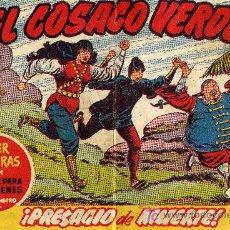 Tebeos: EL COSACO VERDE Nº45 (CUADERNILLO ORIGINAL) FERNANDO COSTA Y VÍCTOR MORA. EDITORIAL BRUGUERA. Lote 6831183