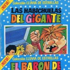Tebeos: COLECCIÓN LLUVIA DE ESTRELLAS Nº 21 Y 22 (EDITORIAL BRUGUERA, 1985). Lote 6831296