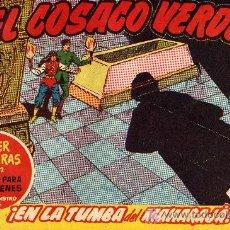 Tebeos: EL COSACO VERDE Nº51 (CUADERNILLO ORIGINAL) FERNANDO COSTA Y VÍCTOR MORA. EDITORIAL BRUGUERA). Lote 6840052