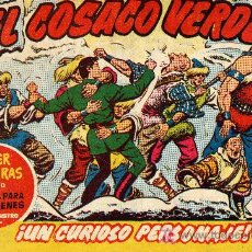 Tebeos: EL COSACO VERDE Nº57 (CUADERNILLO ORIGINAL) FERNANDO COSTA Y VÍCTOR MORA. EDITORIAL BRUGUERA. Lote 6840105