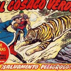 Tebeos: EL COSACO VERDE Nº62 (CUADERNILLO ORIGINAL) FERNANDO COSTA Y VÍCTOR MORA. EDITORIAL BRUGUERA. Lote 6840138