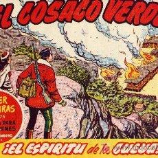 Tebeos: EL COSACO VERDE Nº65 (CUADERNILLO ORIGINAL) FERNANDO COSTA Y VÍCTOR MORA. EDITORIAL BRUGUERA. Lote 6840165