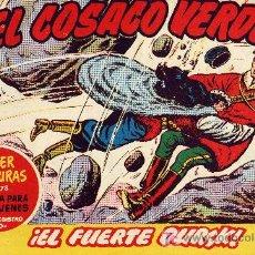 Tebeos: EL COSACO VERDE Nº66 (CUADERNILLO ORIGINAL) FERNANDO COSTA Y VÍCTOR MORA. EDITORIAL BRUGUERA. Lote 6840196