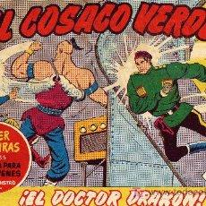 Tebeos: EL COSACO VERDE Nº92 (CUADERNILLO ORIGINAL) FERNANDO COSTA Y VÍCTOR MORA. EDITORIAL BRUGUERA. Lote 6840270